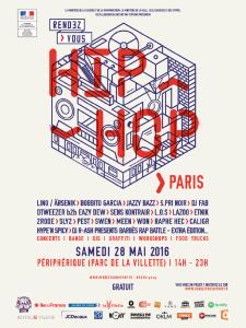 RDV Hip Hop Paris_Affiche