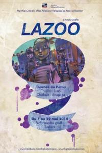 affiche lazooPérou2014