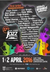 Capetown jazz festival