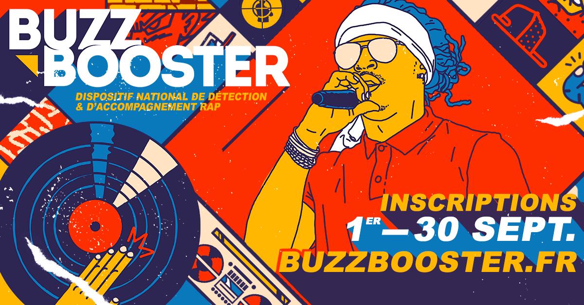 Buzz Booster - inscription