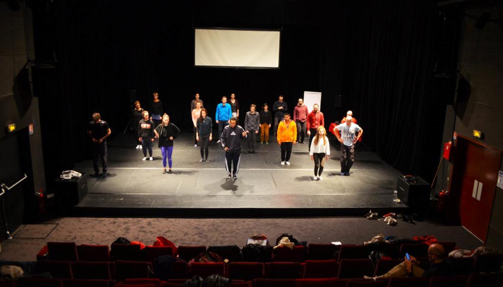 Formation Danse UNSS Scène